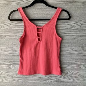 Cotton On Hot Pink Tank Top